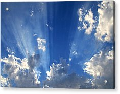 Heavenly Light Acrylic Print