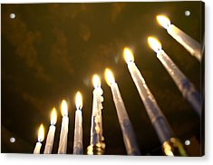 Heavenly Lights Acrylic Print by Tikvah's Hope
