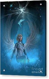Heavenly Messenger Acrylic Print by Shadowlea Is