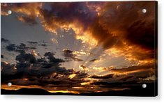 Heavenly Rapture Acrylic Print by Mike Breau