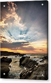 Acrylic Print featuring the photograph Heavenly Skies by John Swartz