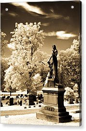 Acrylic Print featuring the photograph Heavenly Statue by David Stine