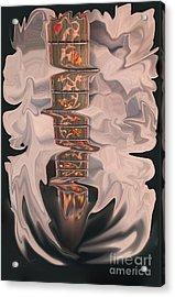 Heavenly Strings Acrylic Print by Steven Lebron Langston