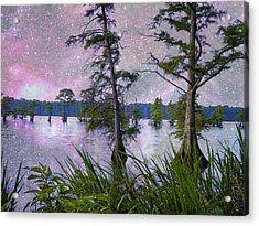 Heavenly Sunrise Acrylic Print by J Larry Walker