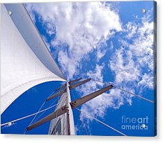 Heavenly Uncharted Acrylic Print by Gem S Visionary
