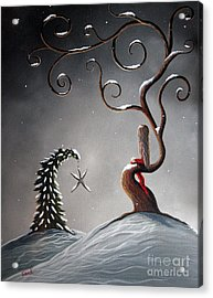 Heaven's Brightest Star By Shawna Erback Acrylic Print