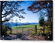 Heavens Gate 1st In Series Acrylic Print by Paul Herrmann