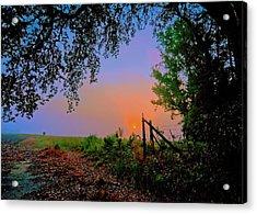 Heaven's Gate Acrylic Print by John Harding
