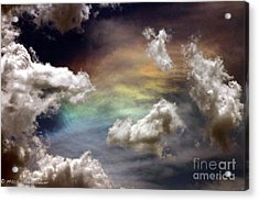 Acrylic Print featuring the photograph Heaven's Gate by Mitch Shindelbower