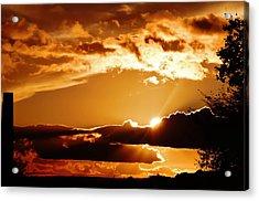 Heavens Glow Acrylic Print