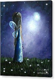 Heaven's Little Helper By Shawna Erback Acrylic Print by Shawna Erback