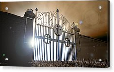 Heavens Open Gates Acrylic Print by Allan Swart