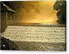 Heaven's Rays Acrylic Print