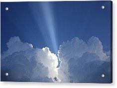 Heaven's Spotlight Acrylic Print