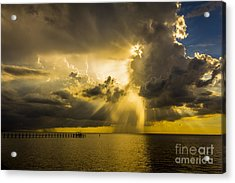 Heavens Window Acrylic Print by Marvin Spates