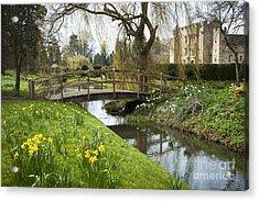 Heaver Castle In Spring Acrylic Print by Donald Davis