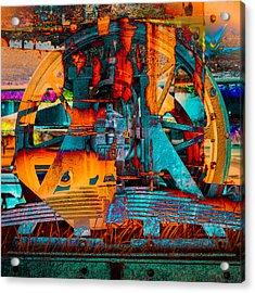 Heavy Duty I Acrylic Print by Andy Bitterer