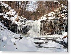Heavy Ice At Harrison Wright Acrylic Print