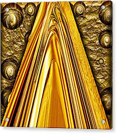 Heavy Metal 1 Acrylic Print by Wendy J St Christopher