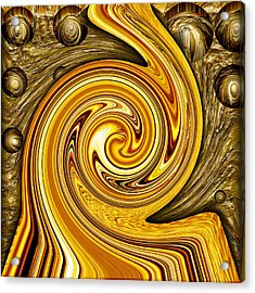 Heavy Metal 2 Acrylic Print by Wendy J St Christopher