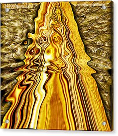 Heavy Metal 4 Acrylic Print by Wendy J St Christopher