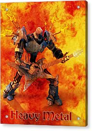 Heavy Metal Acrylic Print by Frederico Borges