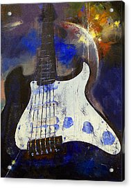 Heavy Metal Acrylic Print by Michael Creese