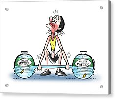 Heavy Water Acrylic Print