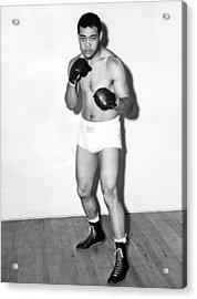 Heavyweight Champion Joe Louis Acrylic Print