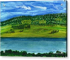 Hebgon Lake 2 Acrylic Print