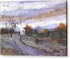 Hebo Farmhouse Acrylic Print by Chriss Pagani