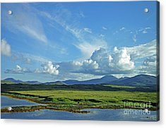 Acrylic Print featuring the photograph Hebridean Light by Jacqi Elmslie