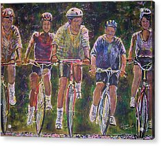 Heck On Wheels Acrylic Print by Linda Vaughon