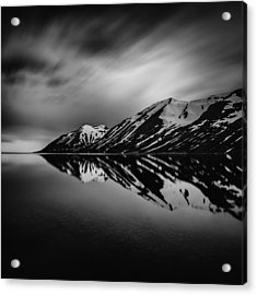 Acrylic Print featuring the photograph Hedinsfjordur by Frodi Brinks