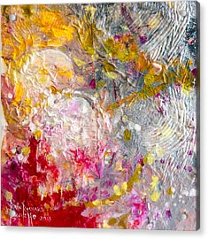 Acrylic Print featuring the painting Hedonic by Ron Richard Baviello