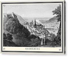 Heidelberg Etching Acrylic Print