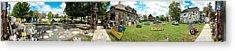 Heidelberg Panorama Acrylic Print