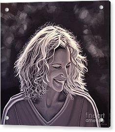 Heike Henkel Acrylic Print by Paul Meijering