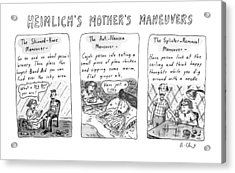 Heimlich's Mother's Maneuvers Acrylic Print