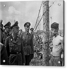 Heinrich Himmler, Head Of The Nazi Ss Acrylic Print