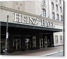 Heinz Hall Acrylic Print