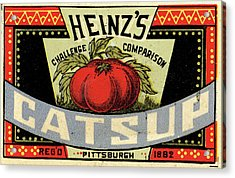 Heinz Ketchup Acrylic Print by Us National Archives