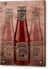 Heinz Tomato Ketchup Acrylic Print by Dan Sproul