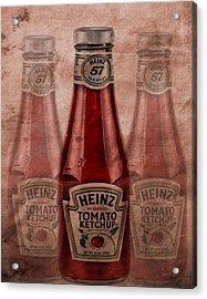Heinz Tomato Ketchup Acrylic Print