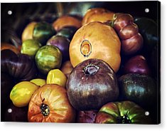 Heirloom Tomatoes At The Farmers Market Acrylic Print