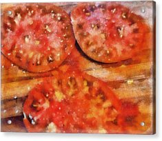 Heirlooms With Salt And Pepper Acrylic Print by Michelle Calkins