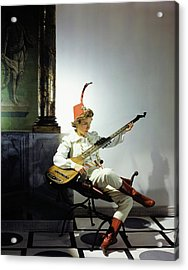 Helen Hayes Dressed In Costume For Twelfth Night Acrylic Print