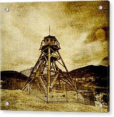Helena-montana-fire Tower Acrylic Print