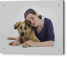 Helene And Merlin 2 Acrylic Print