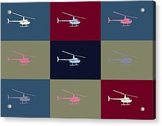 Helicopter  Acrylic Print by Tommytechno Sweden